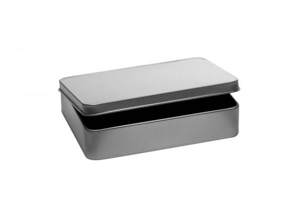 Rechteckdose mit Scharnierdeckel  (118x87x25mm)