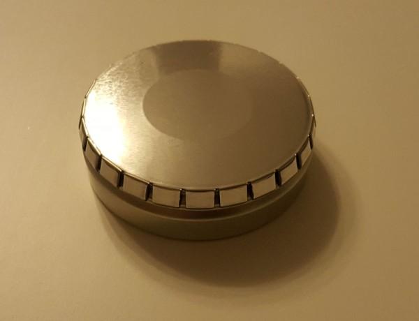 runde Blechdose mit Klick-Klack-Deckel (D76*23mm)
