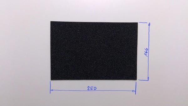 Schaumstoffeinsatz / Einlage 250x166mm/