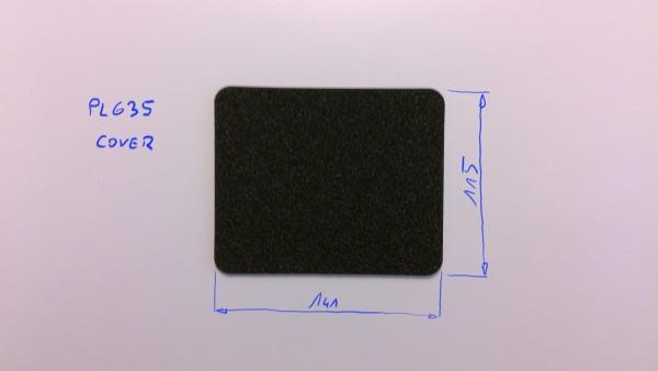 Schaumstoffeinsatz / Einlage 141x115mm / PL635 (Decklage)