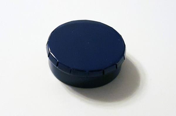 runde Blechdose mit Klick-Klack-Deckel (D45*15mm), blau