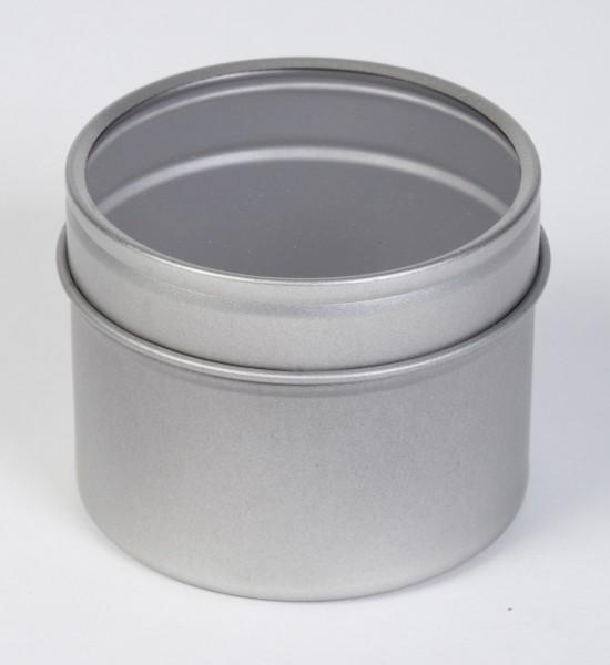runde Stülpdeckeldose mit Sichtfenster (d60x45mm)