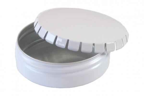 runde Blechdose mit Klick-Klck-Deckel (D76*23mm)