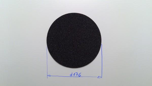 Schaumstoffeinsatz / Einlage d176mm Decklage / PL417, WR237