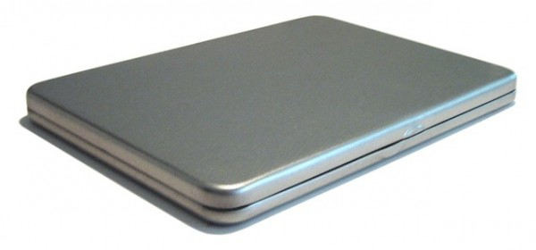 DVD Blechdose mit Kunststoffinlay (190*135*15mm)