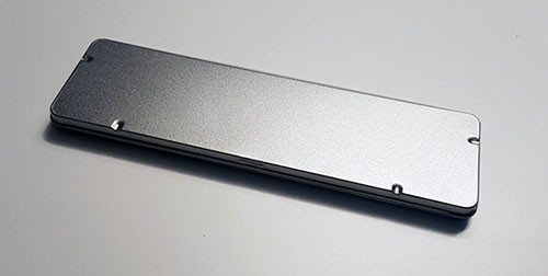Blechdose mit Scharnierdeckel (178*50*9mm)