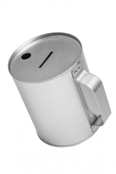 runde Spendendose mit Handbügel (d105x130mm)