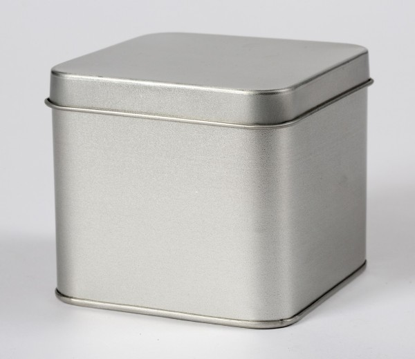 Blechdose mit Stülpdeckel (88*88*80mm)