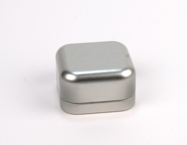 Quadratische Schmuckdose mit Stülpdeckel (60*60*35mm)