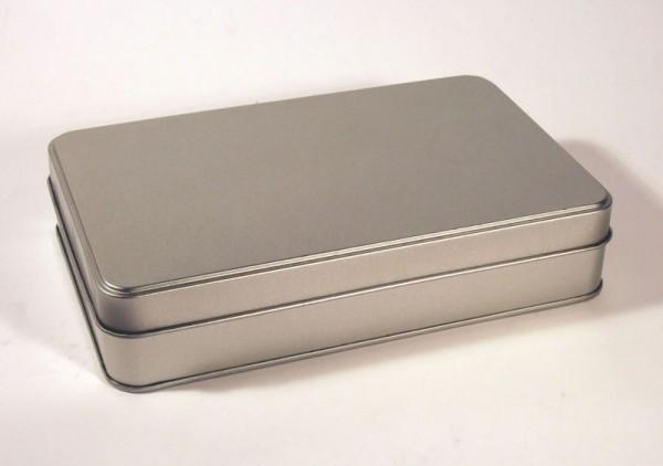 Blechdose mit Stülpdeckel im Videoformat (217*137*62mm) ALT: GDO-V062