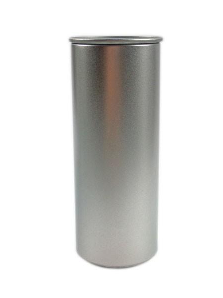 """runde Blechdose mit Stülpdeckel im """"Energie-Getränke-Design"""" (d54*142mm) GDO-E142"""