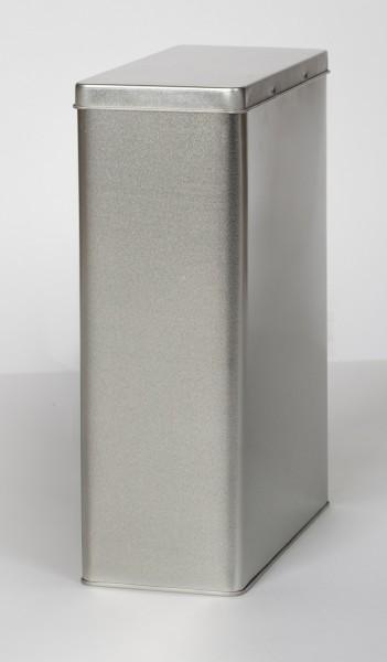 Blechdose mit Scharnierdeckel (191x87x255mm)
