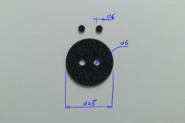 Schaumstoffeinsatz / Einlage d45mm / GDA-4623