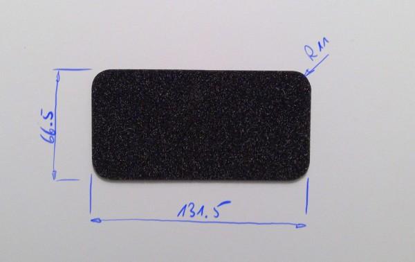Schaumstoffeinsatz / Einlage Decklage 131.5 x 66.5mm / PL632