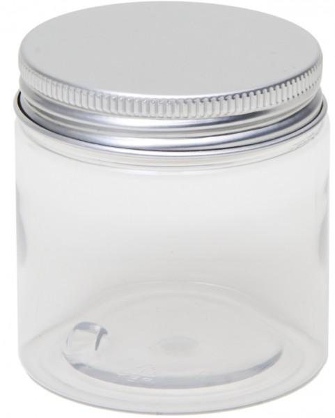 0100ml PET Dose mit Aluminium Schraubdeckel (D60x61mm)