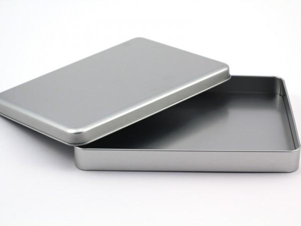 DIN-A5 Blechdose mit Stülpdeckel (221x162x28mm) GDO-A525