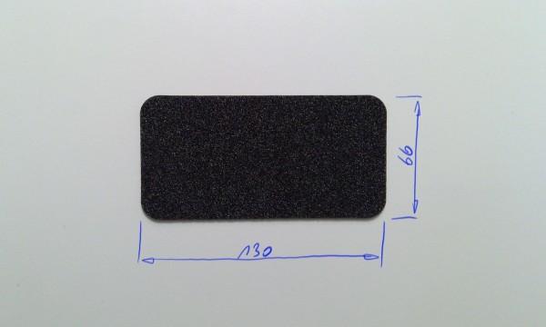 Schaumstoffeinsatz / Einlage 130x66mm / PL632