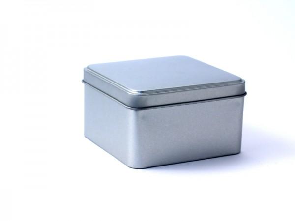 Schmuckdose quadratisch mit Stülpdeckel (95*95*54mm)