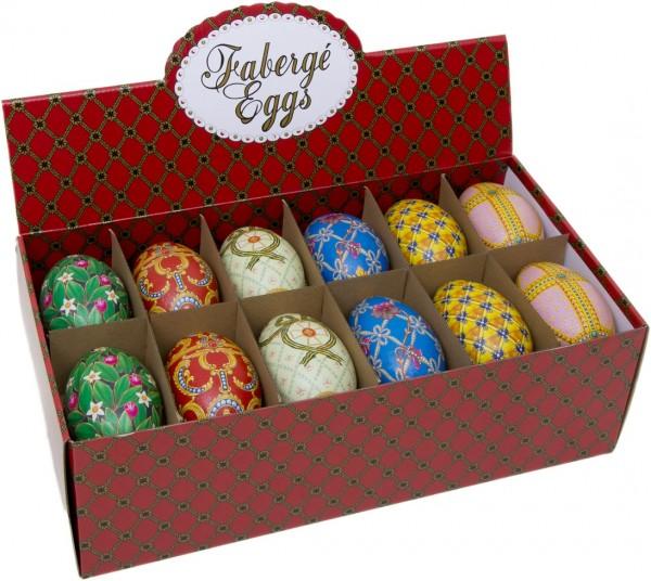 Faberge Ei, Motiv: HERITAGE (110x69x71mm)