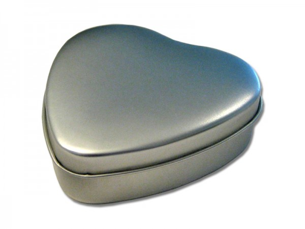 Herzdose mit Stülpdeckel (93x90x23mm)
