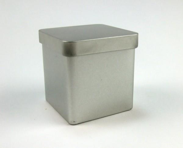 Schmuckdose quadratisch mit Stülpdeckel (57*57*60mm)