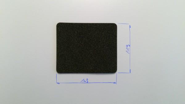 Schaumstoffeinsatz / Einlage 143x119mm / PL635