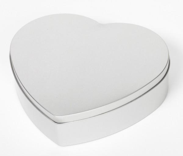 Herzdose mit Stülpdeckel (183x170x47mm)