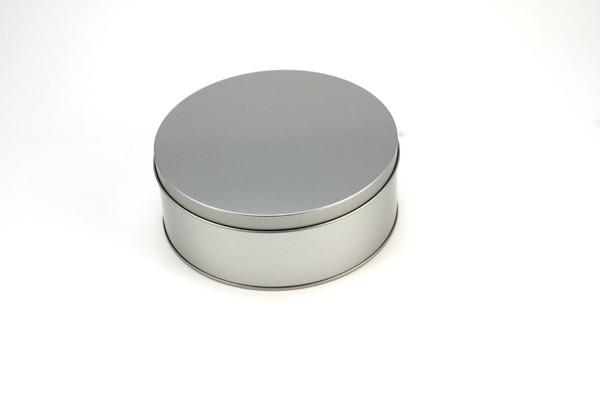 runde Dose mit Stülpdeckel (D182x70mm)