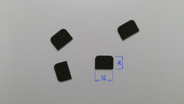 Schaumstoffeinsatz / Einlage 32x24mm/