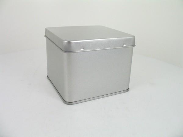 Blechdose mit Stülpdeckel (75*75*60mm)