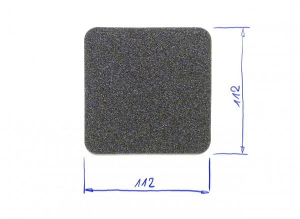 Schaumstoffeinsatz / Einlage 112x112mm / GDL-9017