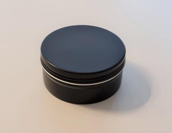 0180ml schwarze Aluminiumdose mit Schraubdeckel (D81*38mm)