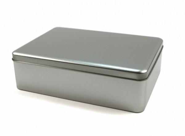 """Blechdose mit Stülpdeckel DIN-A5 """"hoch"""" (221x162x67mm) GDO-A567"""