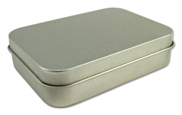 rechteckige Blechdose / Kartendose (105x75x25mm) ALT: GDO-I049