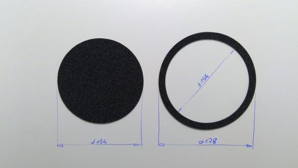 Schaumstoffeinsatz / Einlage d178mm / PL417, WR237